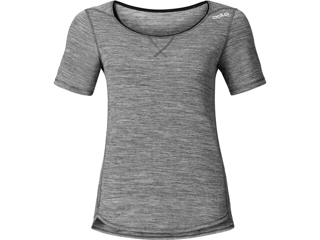 Odlo Revolution TW Light T-shirt à col ras-du-cou Femme, grey melange